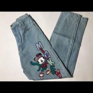 Vintage Mickey Pants Junior